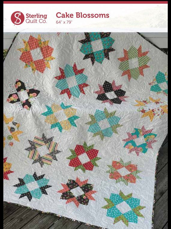 PDF Cake Blossoms Layer Cake Friendly Quilt Pattern | Download ... : layer cake friendly quilt patterns - Adamdwight.com