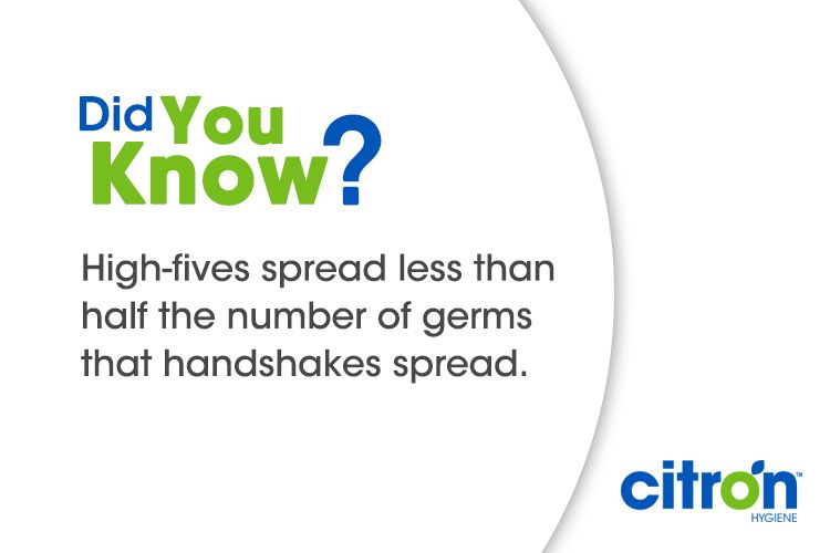Here S A Fun Fact About Handhygiene For Nationalhighfiveday