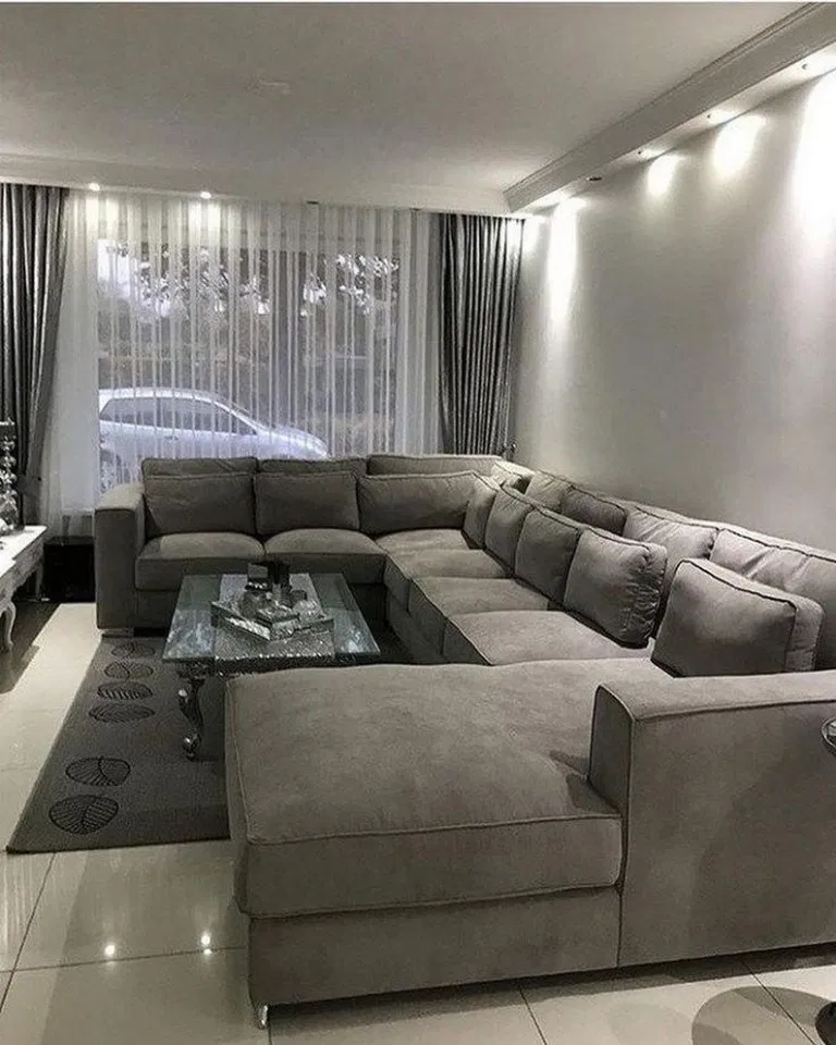 43 Popular Sofa Living Room Furniture Design Ideas 46