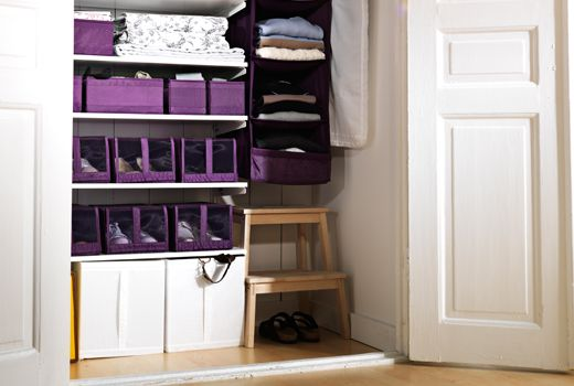 Small clothes storage solutions ikea clothes organisers - Storage solutions for small closets ...