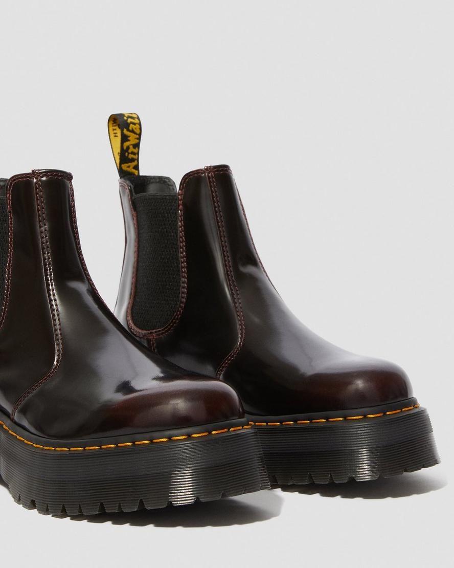 Dr Martens 2976 Arcadia Platform Chelsea Boots With Images