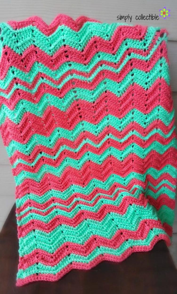 Chevron flare blanket crochet pattern baby to king size chevron flare blanket crochet pattern baby to king size bankloansurffo Gallery