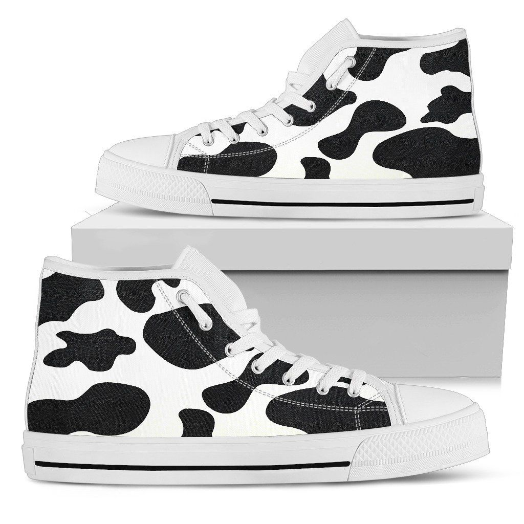 Cow Print High Top Products Cow print, High tops