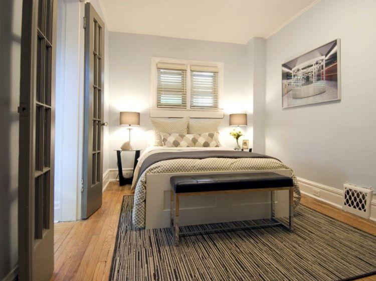 Schlafzimmer Design für kleine Räume – 23 funktionale Ideen #design ...
