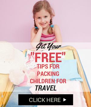 Get FREE Tips For Packing Children for Travel  #picsandpalettes #teelieturner #travel