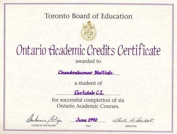 OacJpg   Academic Certificate Ideas