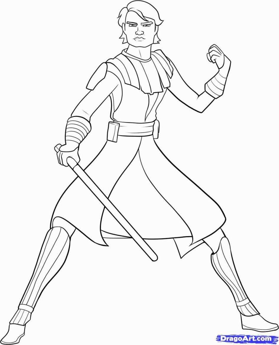 Clone Wars Coloring Pages Star Wars Drawings Star Wars Clone