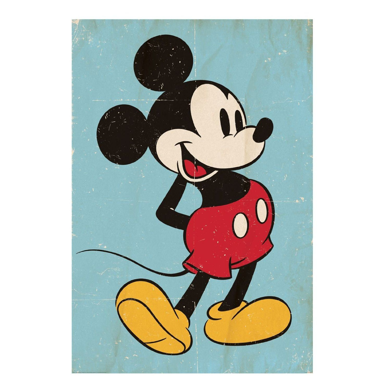 Murale Mickey Mouse Disney Amazonfr Cuisine Maison Vintage MouseMinnie