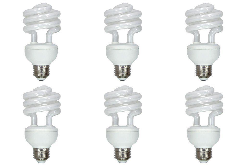 15 Watt Compact Fluorescent Light Bulb Cfl Lamp Dc 12 Volt Energy Saver 6 Pack Lowvoltage Energysaving Led 24v L Fluorescent Light Bulb Light Bulb Bulb