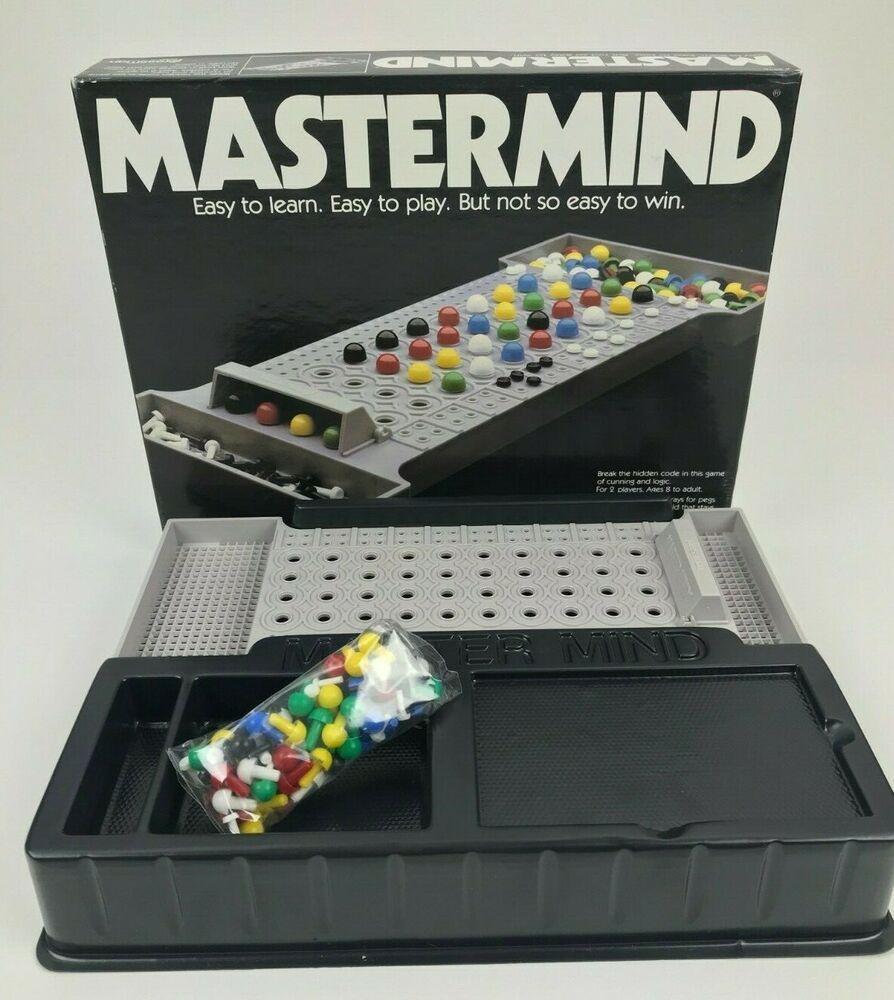 Vintage 1981 Pressman MASTERMIND Board Game Replacement