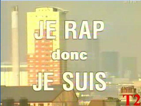 je #rap donc je suis