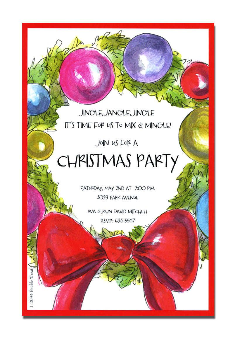 christmas open house invitations Google Search Christmas