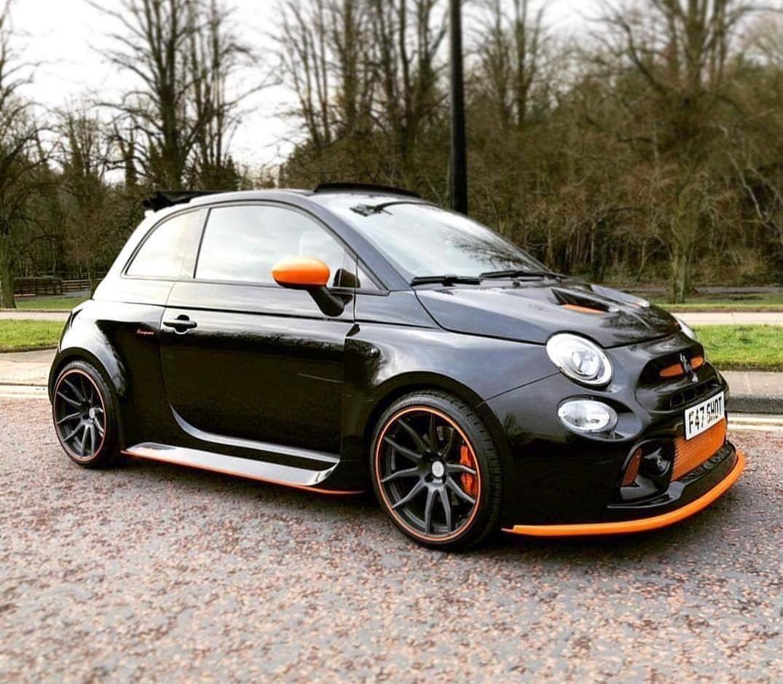 Romeo Ferraris Black Orange With Images Fiat 500 Fiat
