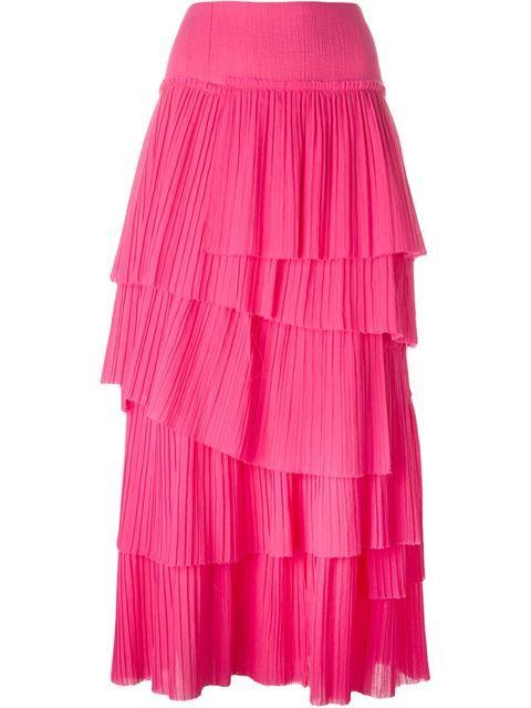 98be8c179e SONIA RYKIEL Tiered Pleat Skirt. #soniarykiel #cloth #skirt | Sonia ...