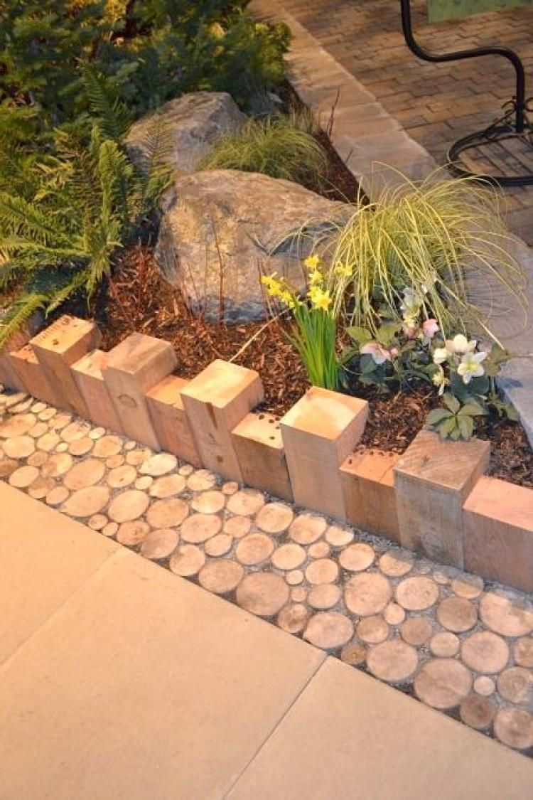 Wonderful Garden Border Fence Wood Design Ideas In 2020 Garden Edging Garden Ideas Cheap Modern Garden