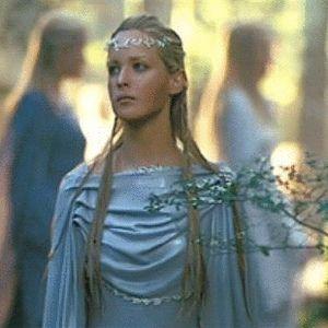 Lothlorien Elf Elven Woman Middle