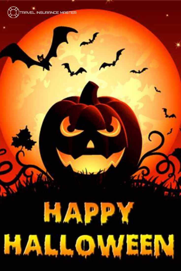 Halloween is coming. Travel safely to your destination.