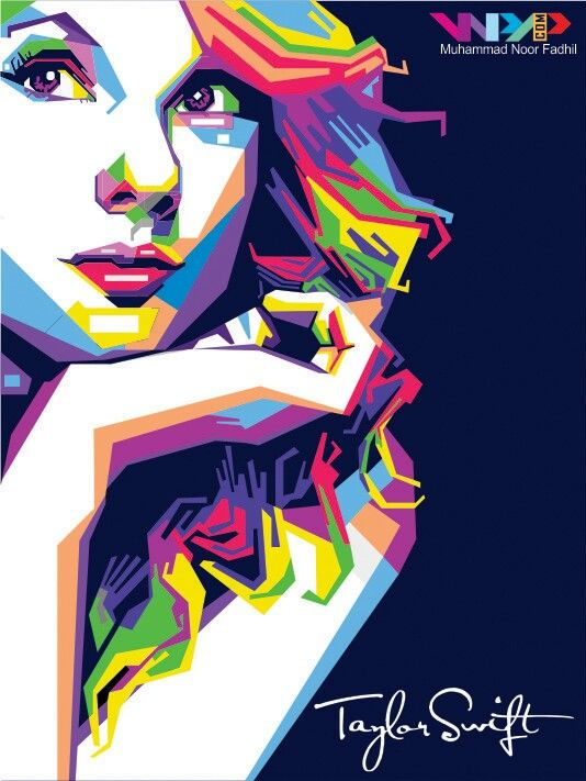 Wpap Taylor Swift Pop Art Art Pop Art Portraits