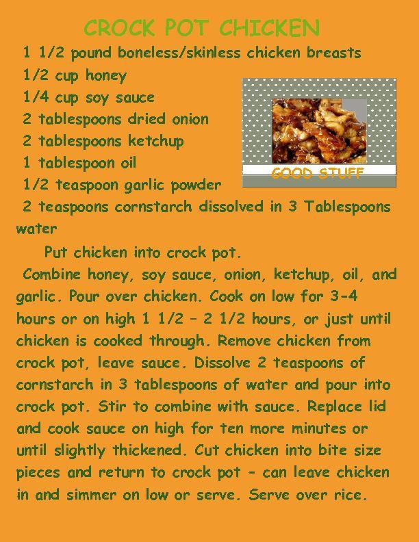 wanda's cookbook   Page 28