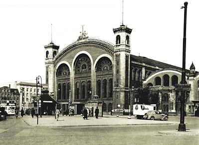 Der Stettiner-Bahnhof. Berlin, 1938. O.P.