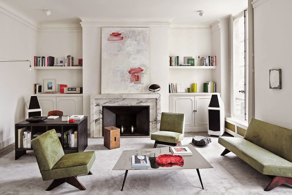 Joseph dirand via ebonybizart living room nel 2019 for Interni di appartamenti