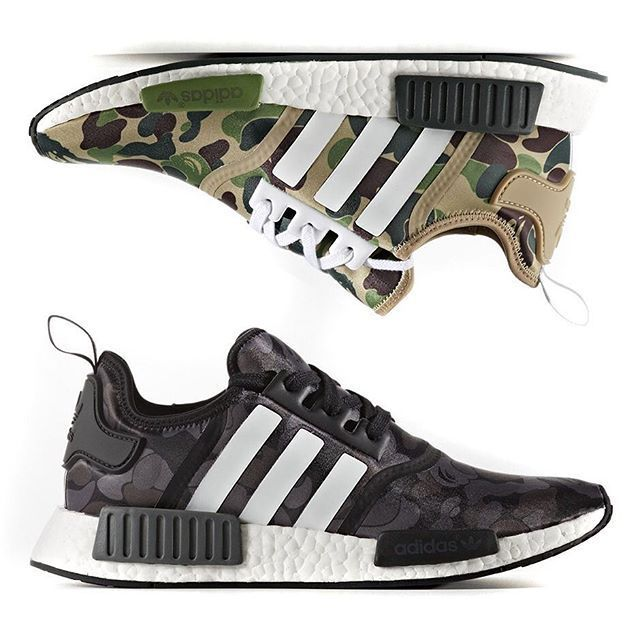BAPE x adidas NMD is coming you way in two colorways. For more details,