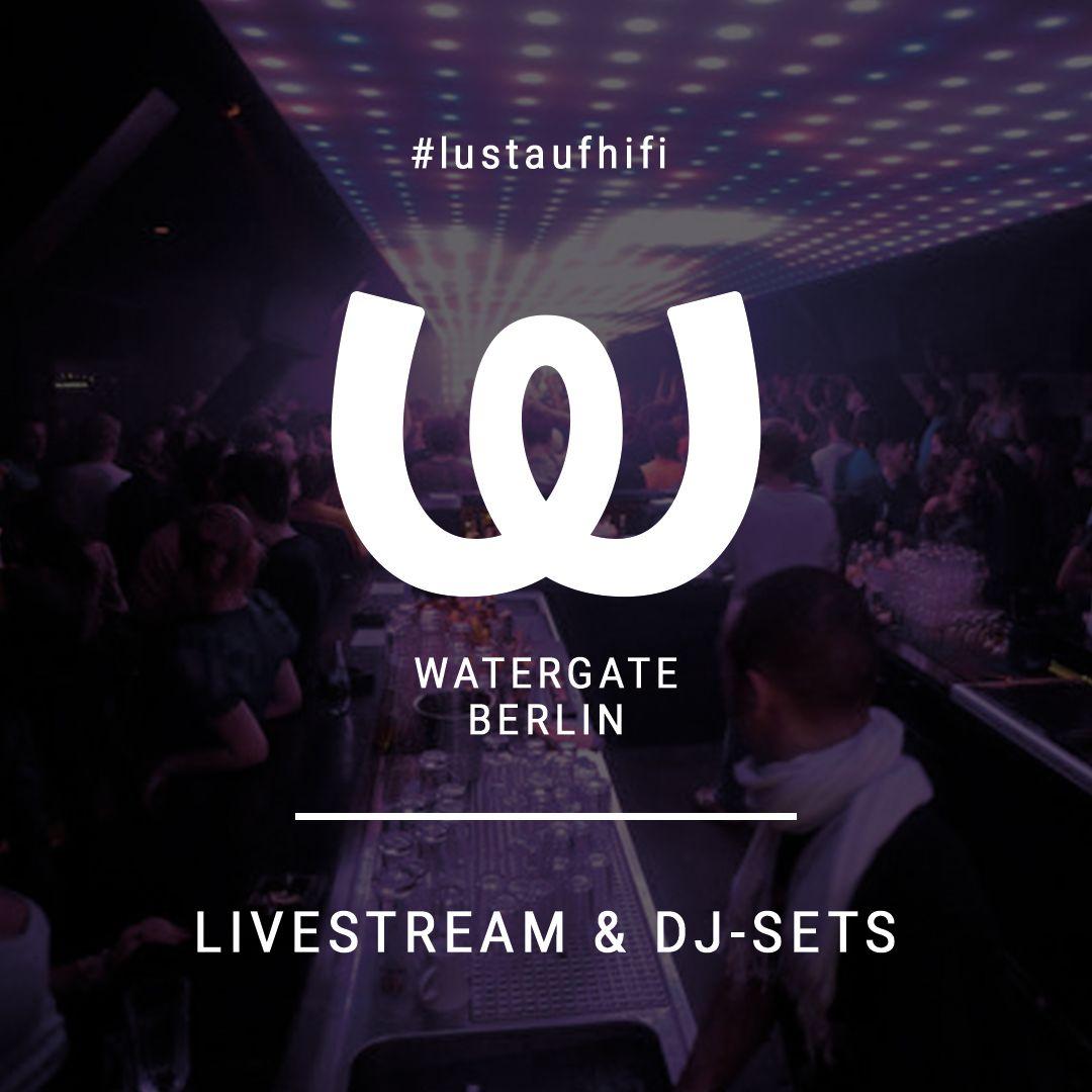 Nachtclub Streaming Par Excellence Mit Dem Watergate Berlin In 2020 Musik Techno Konzert