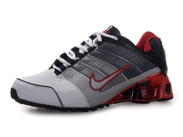big sale e24df cbcbb Chaussures Nike Shox NZ Blanc  Gris  Noir  Rouget  nike 12035  - €45.89   Nike  Chaussure Pas Cher,Nike Blazer and Timerland www.facebook.com .