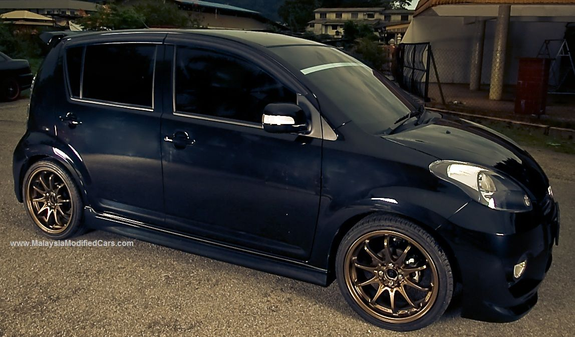 Modified Perodua Myvi 1st Generation Http Www 101modifiedcars