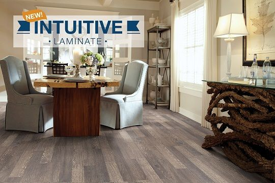 New intuitive laminate flooring a wire brushed natural for Intuitive laminate flooring