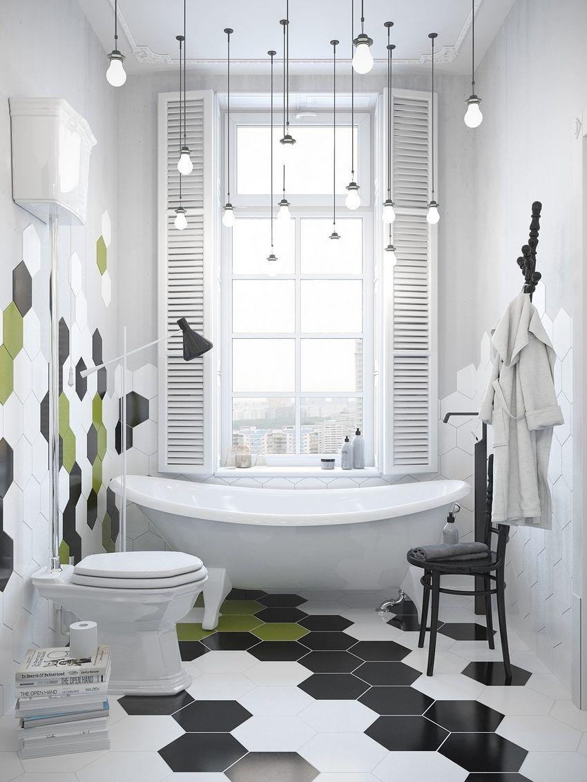 crazy tiled bathroom | Interior Design | Pinterest | Scandinavian ...
