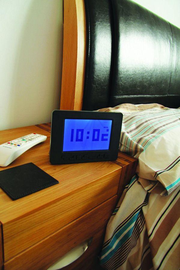 A Super Cool Alarm Clock The
