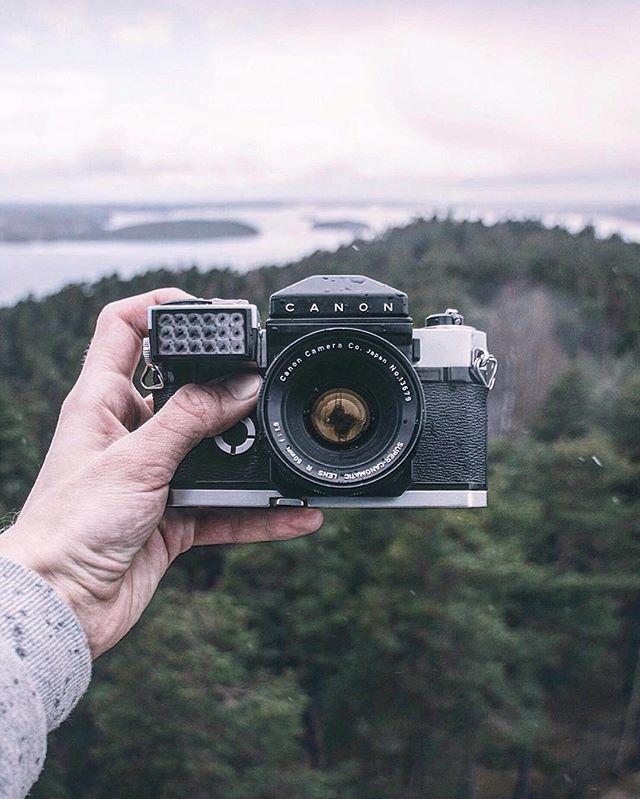 Правила съемки на пленочный фотоаппарат