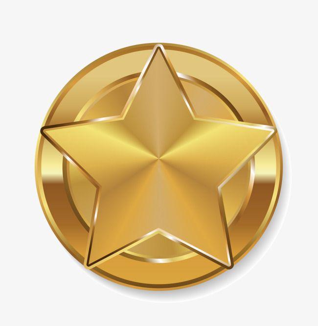 Golden Star Badge Star Clipart Golden Star Air Badge Png Transparent Clipart Image And Psd File For Free Download Star Logo Design Star Badge Logo Design Inspiration Sports