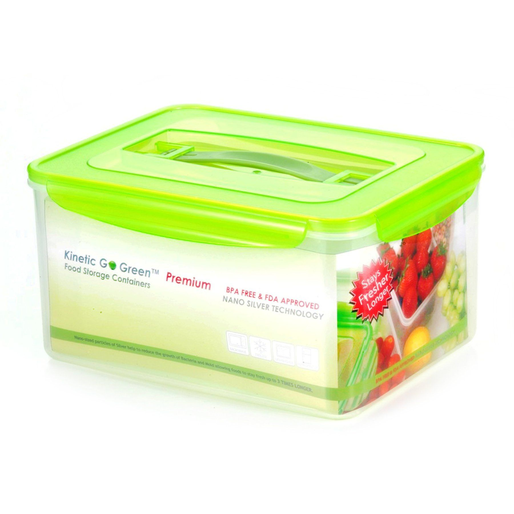 Kinetic Go Green Fresh 237 Oz Rectangular Food Storage Container