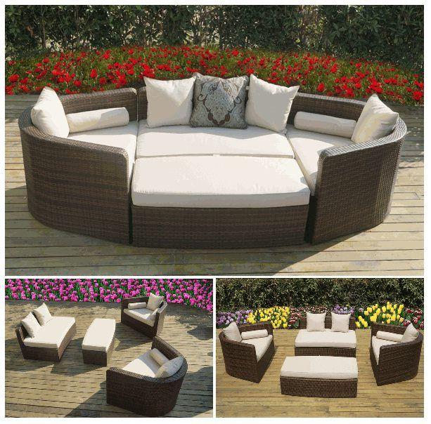 Ohana Wicker Furnitureu0027s Popular Daybed Sofa Set. Only $1499. // Ohana    Outdoor