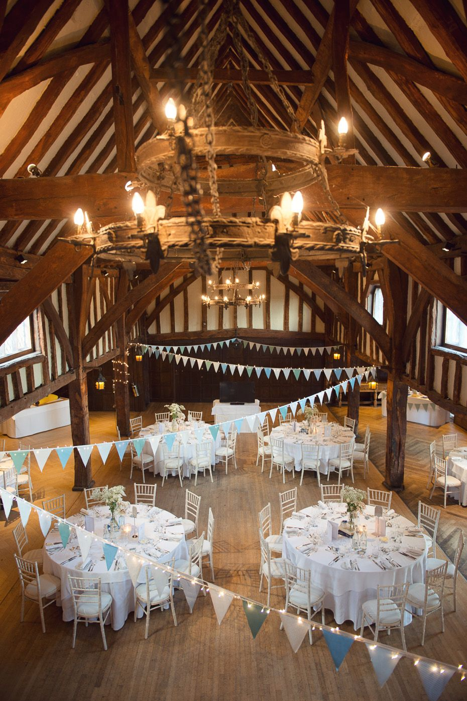 Great Fosters wedding in Egham captured by