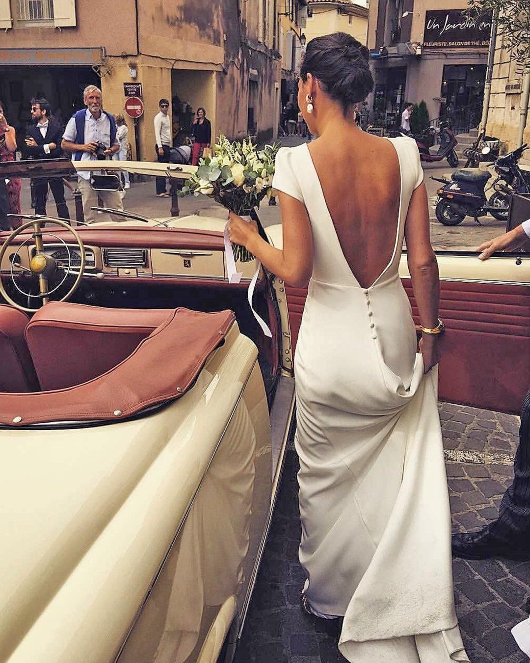 Country Style Wedding Dresses Inspiration In 2021 Wedding Dress Low Back Silk Wedding Dress Simple Silk Wedding Dress [ 1350 x 1080 Pixel ]