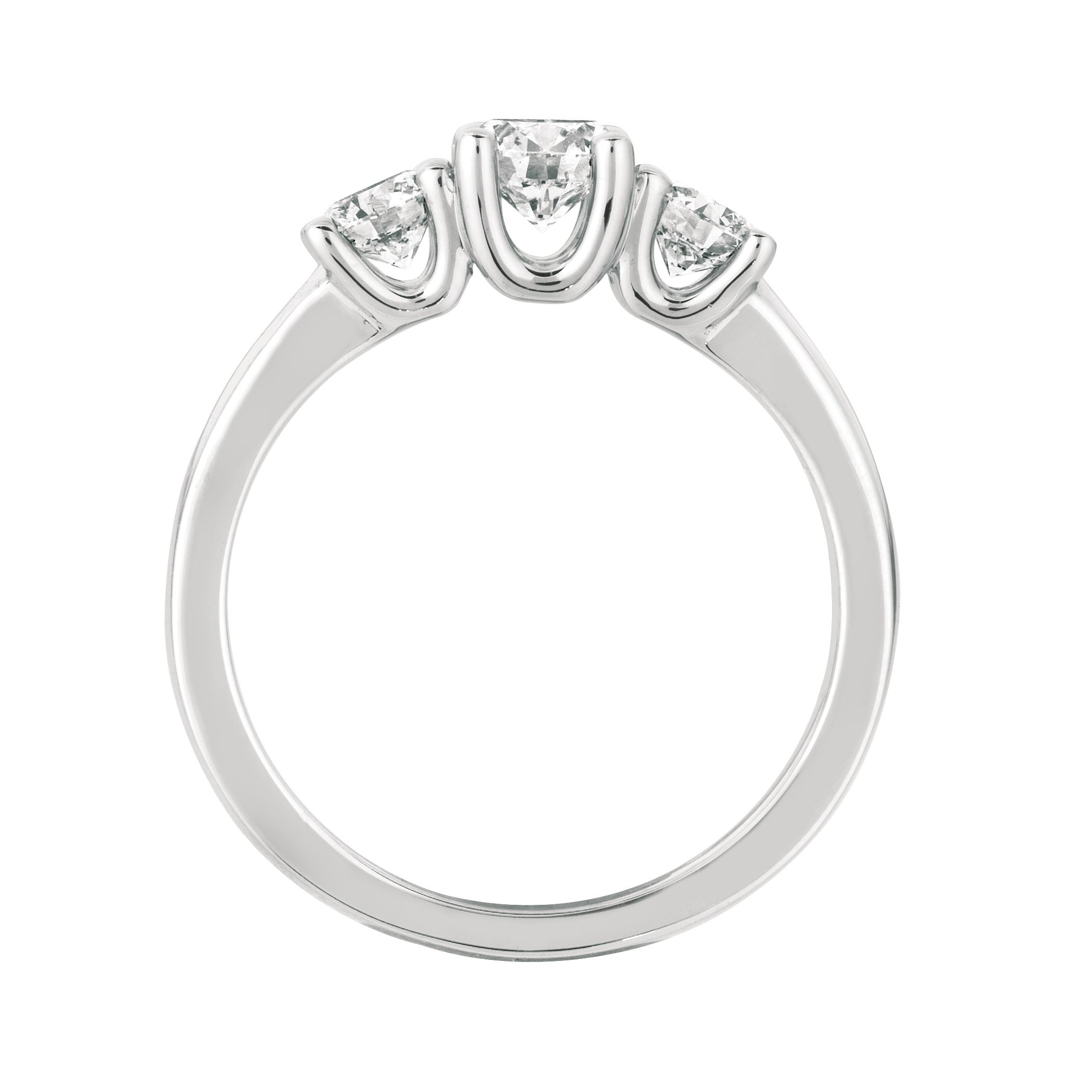 amouria rings stone two double diamond bypass ring