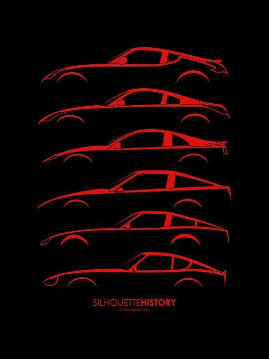 History Of The Z Car Z Cars Pinterest Nissan Cars And Nissan Z
