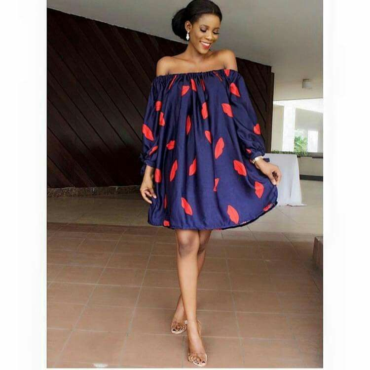 a6ec4de9db2f7 Don't like the dress but love the print. | styles | African fashion ...