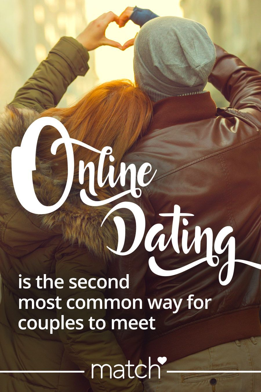 Online dating second most common