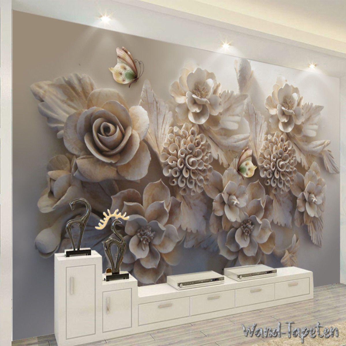 VLIES FOTOTAPETEN WANDTAPETEN Wandbilder 3D-Schöner Schmetterling