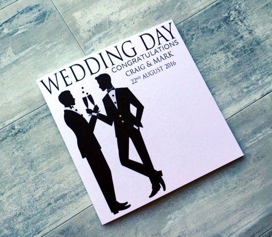 Pin On Gay Wedding Cards