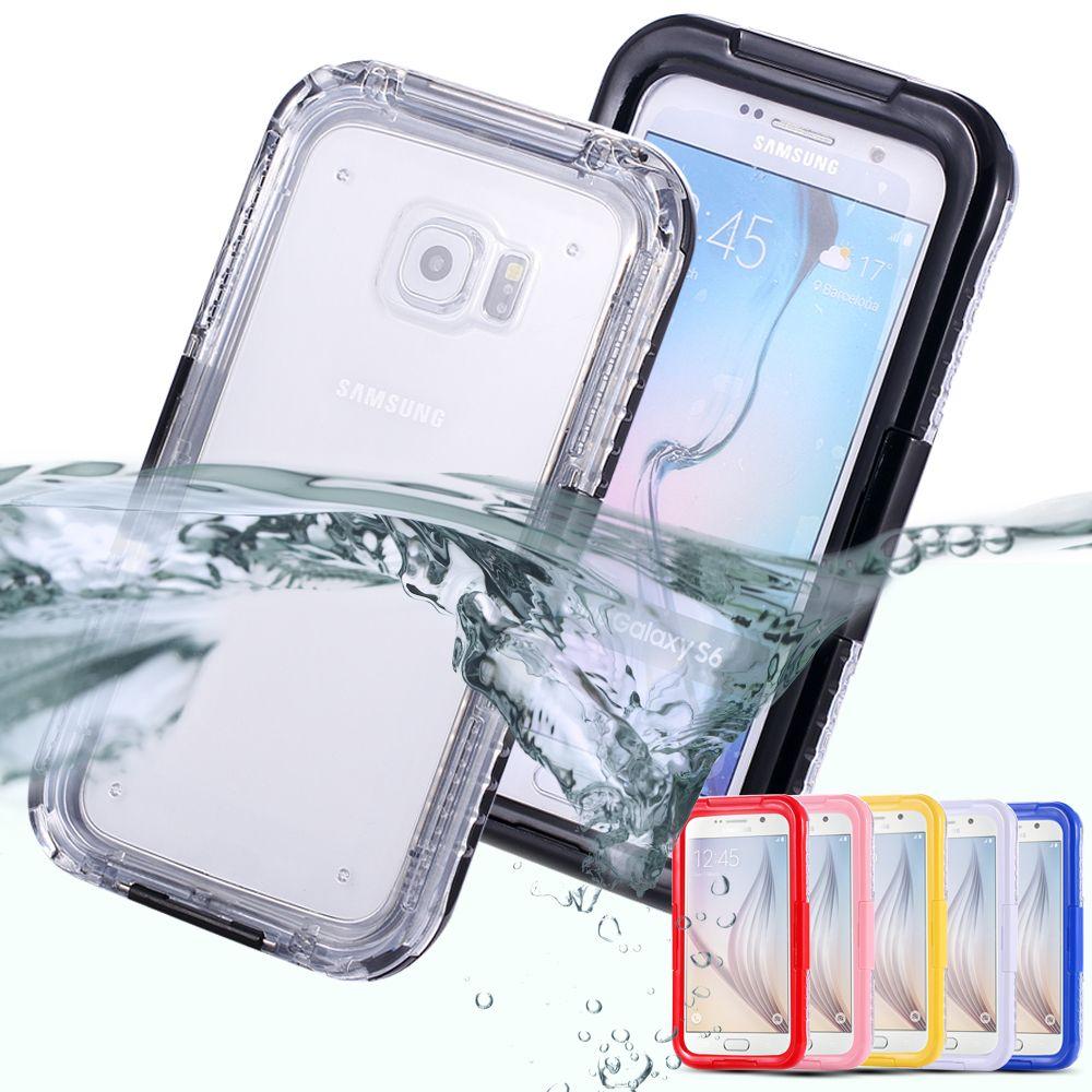 가방 Samsung Galaxy S3 S4 S5 Note 4 5 S7 S7 가장자리 S6 Edge Plus 방수 케이스 클리어 Tpu 하이브리드 수영 다이빙 Case 전화 Samsung Galaxy S3 Samsung Galaxy S6 Samsung Galaxy S4