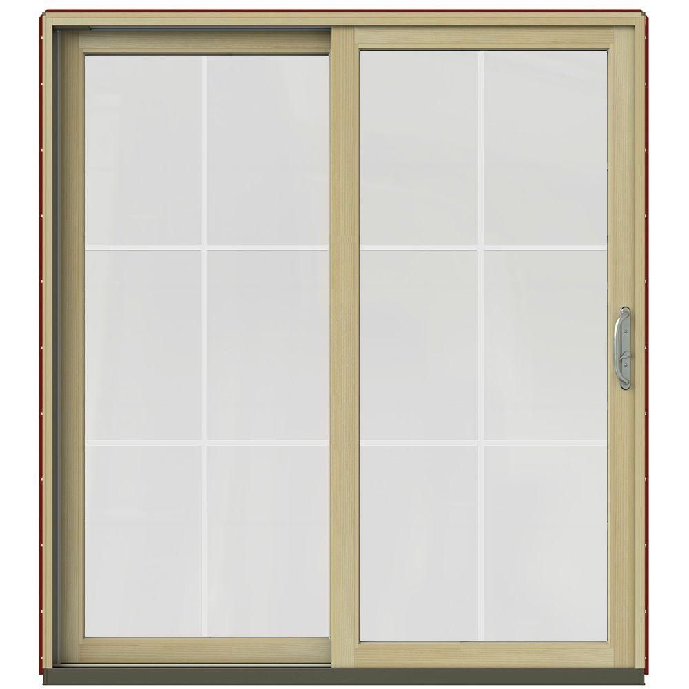Jeld Wen 60 In X 80 In W 2500 Contemporary White Clad Wood Left