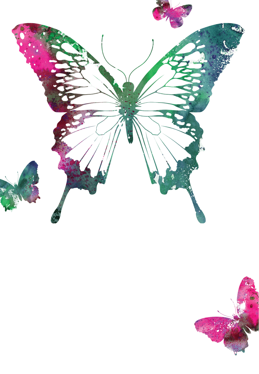 Butterflies - Free Printable Birthday Invitation Template ...