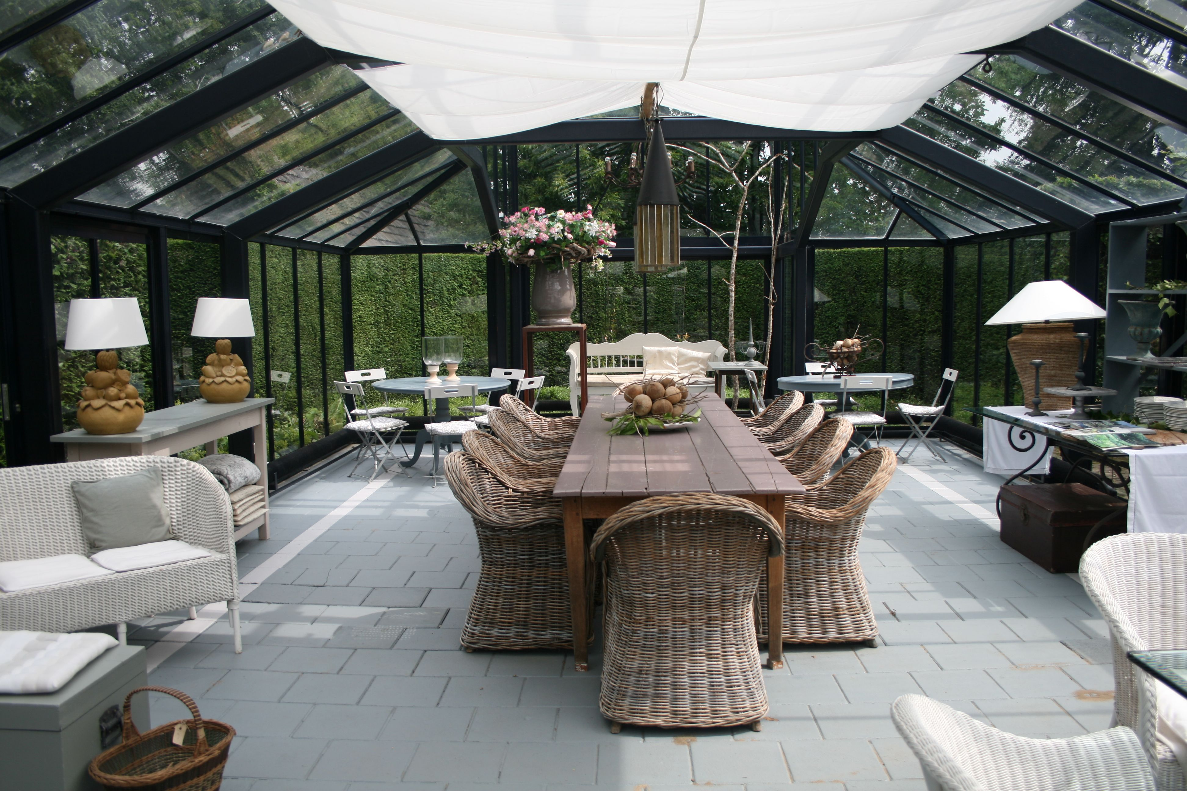 KORBMÖBEL / WINTERGARTEN / GARTENREISE HOLLAND | Garten | Pinterest ...