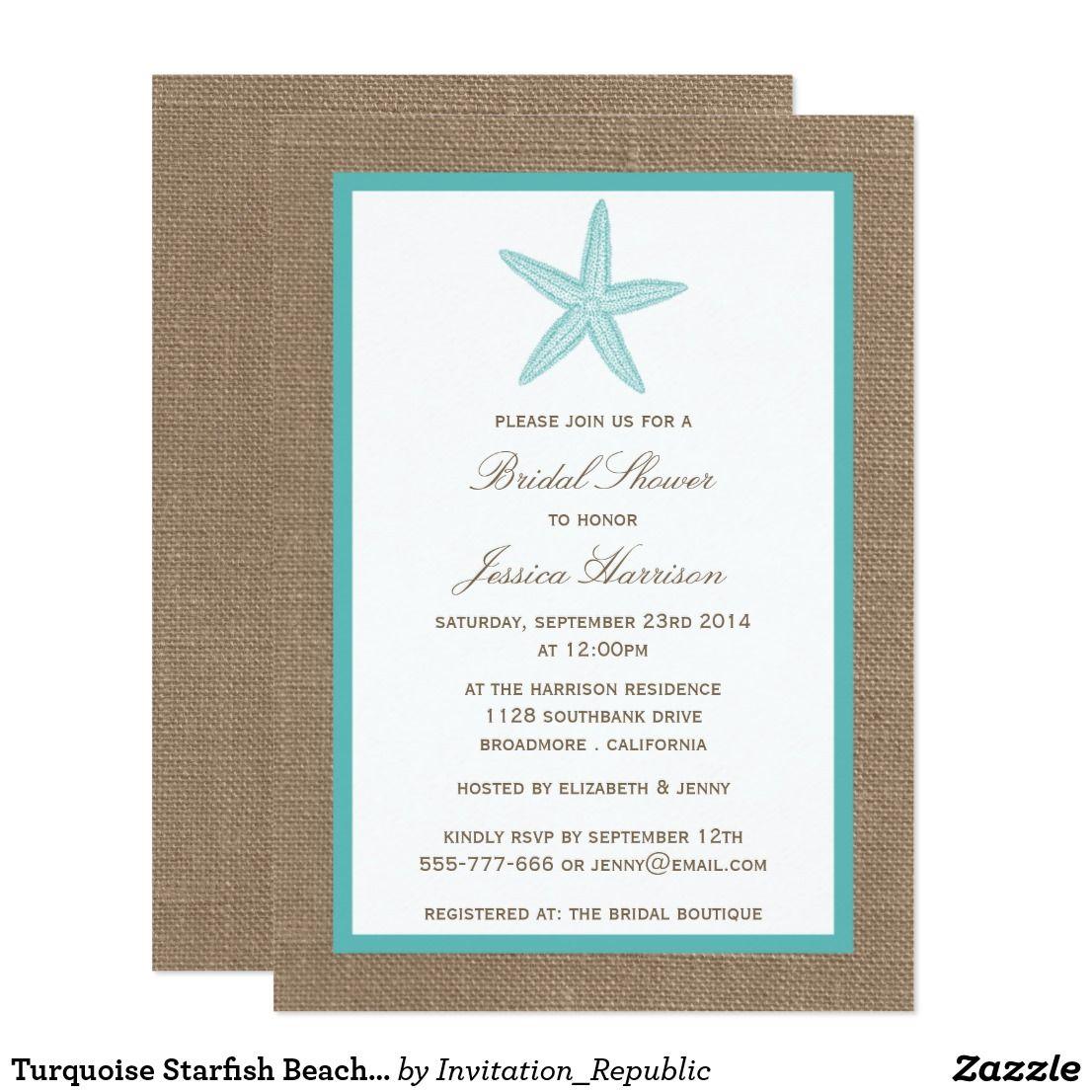 Bridal Shower Etiquette Invite