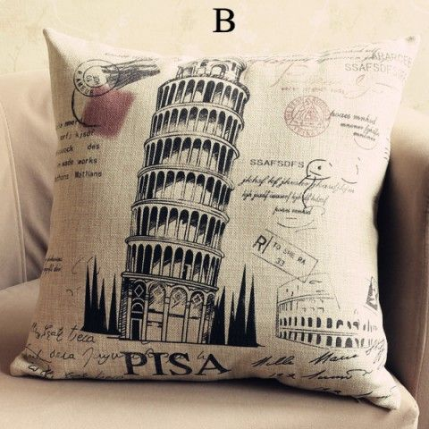 Image result for leaning tower of pisa pillow